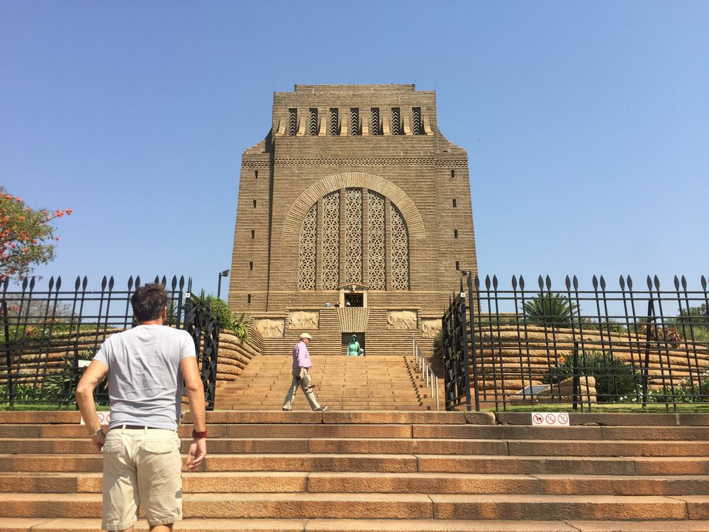 Voortrekker Monument, Pretoria, South Africa, September 2017