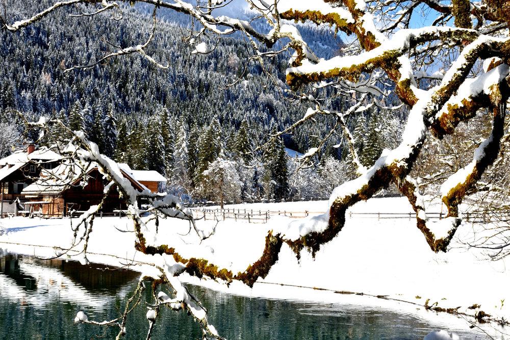 Jägersee, Kleinarl, Salzburgerland, Austria, November 2017