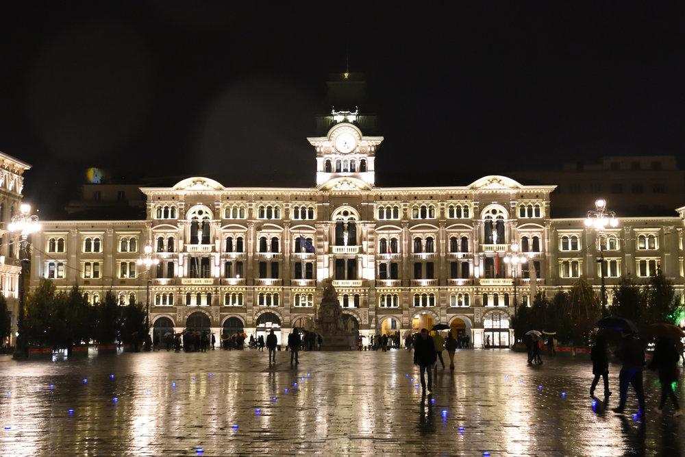 Piazza dell'Unita d*Italia, Trieste, Italy November 2017