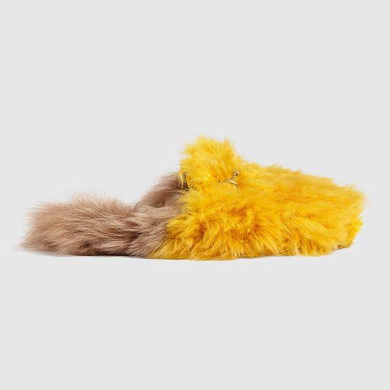 Gucci - Princetown Merino Wool Slipper