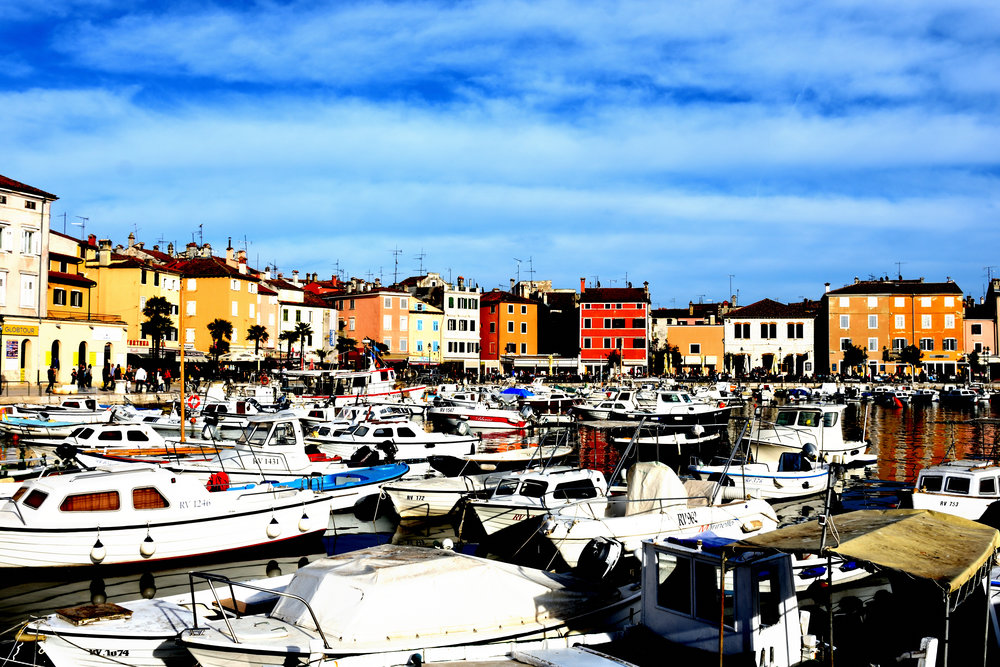 Rovinj, Croatia, April 2018