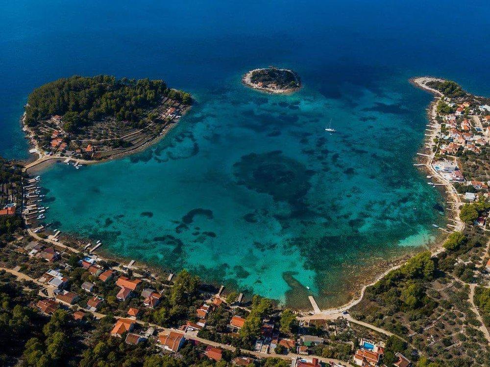 Vela Luka, Korcula Island. Croatia