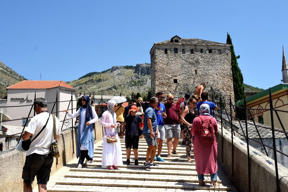 Stari Most, Mostar, July 2018