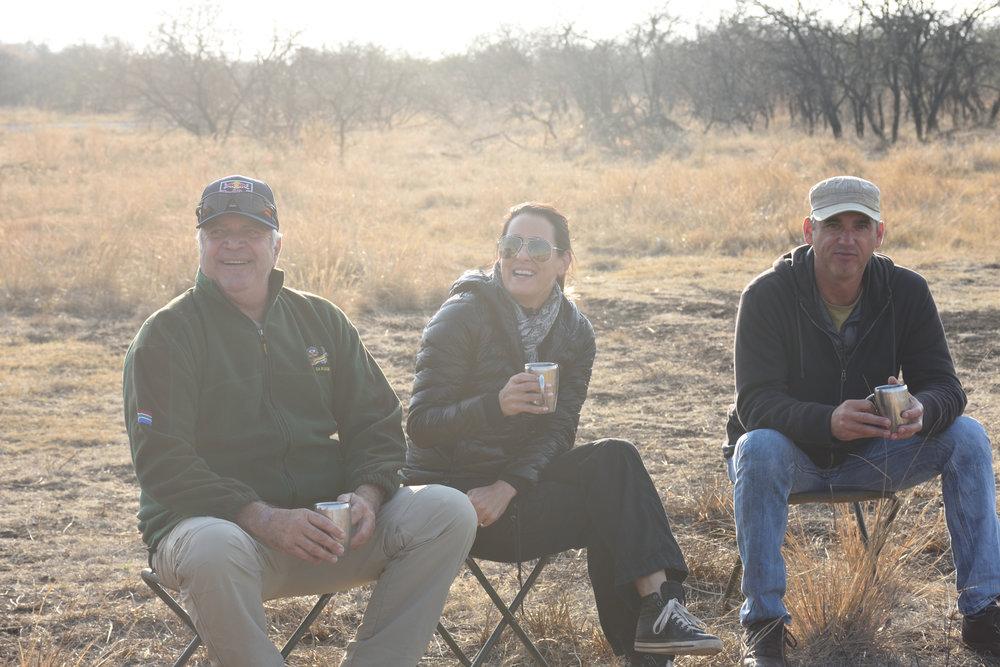 Keith, Lavita & Sander, Nambiti Game Reserve, South Africa, September 20187