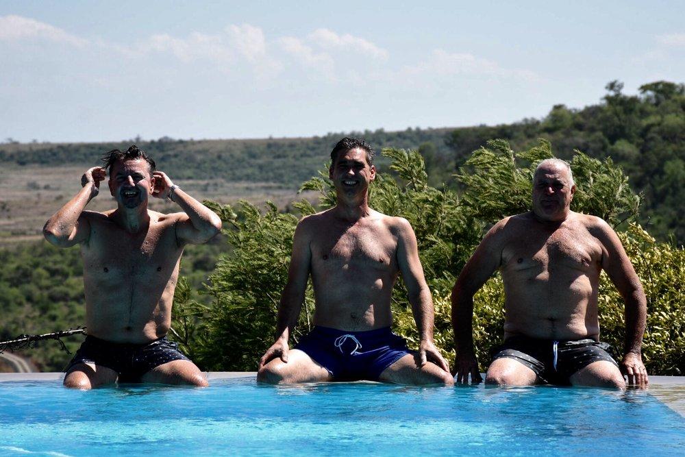 Bojan, Sander & Keith.