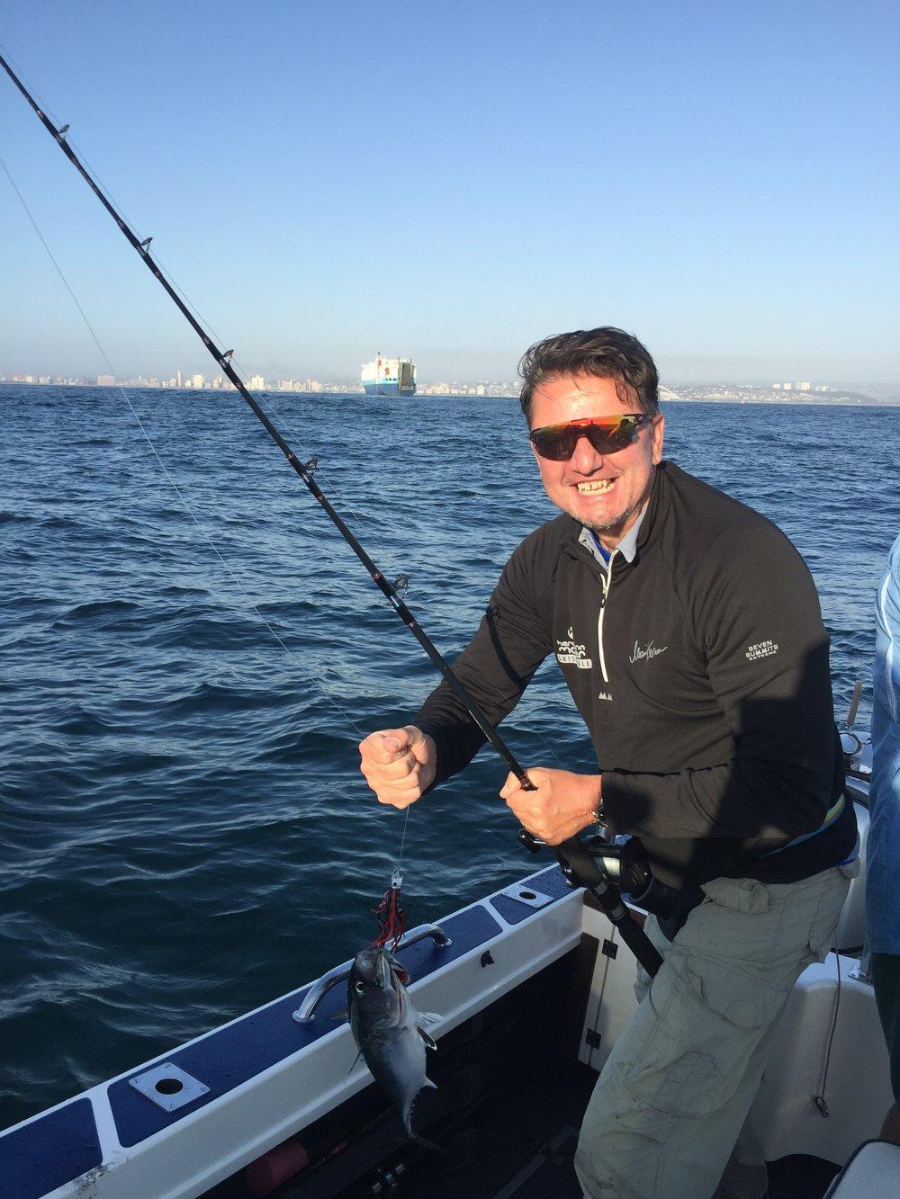 Deep Sea Fishing, Durban, South Africa - October 2018