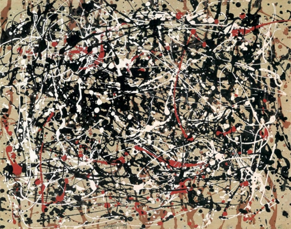 Most Faked Artists in History, Jackson Pollock, Drip Painting, Maria Howard.jpeg
