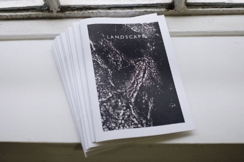 Telegram gallery press, landscape zine .jpeg