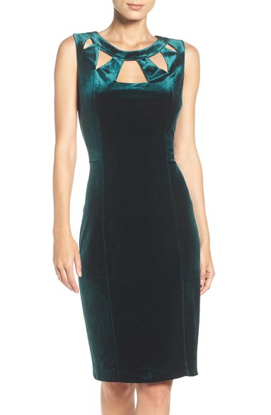 Eliza J Velvet Cutout Dress.jpg