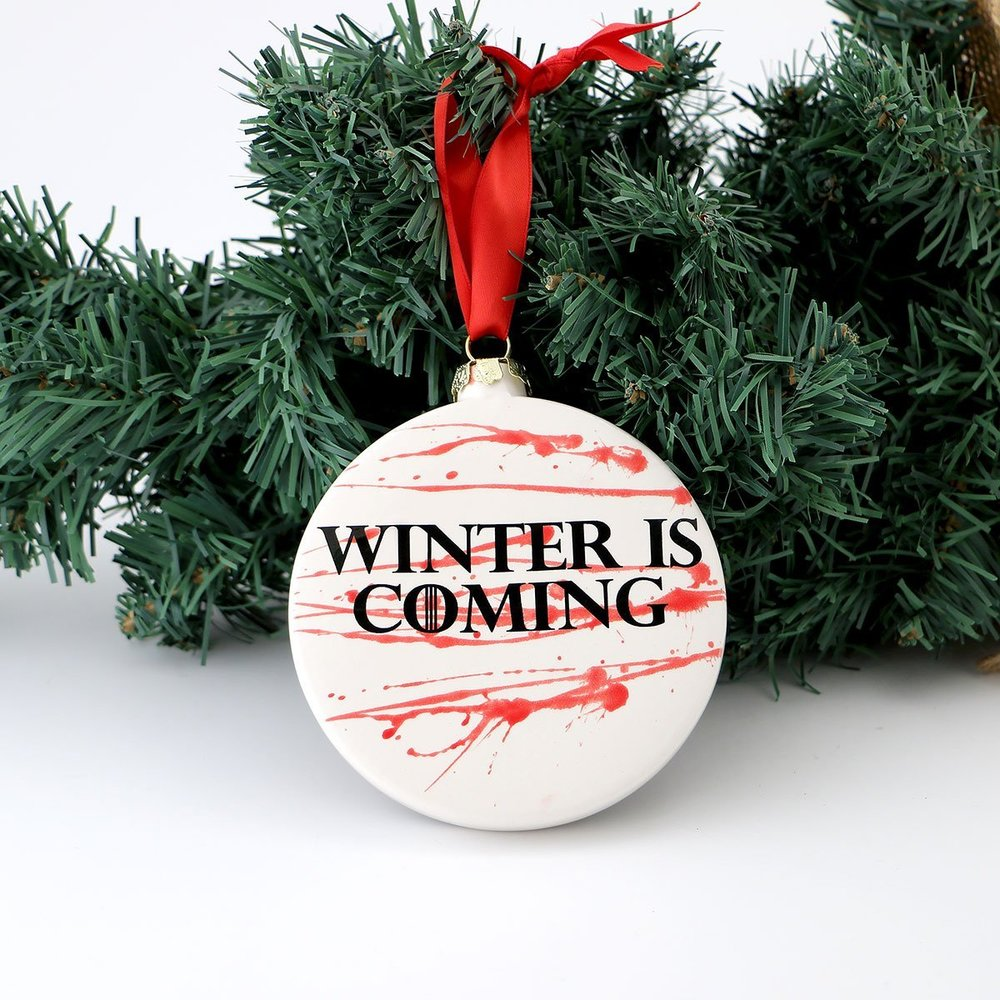 Winter Is Coming Ornament.jpg