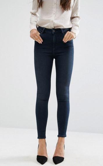 ASOS high waist jeans.JPG
