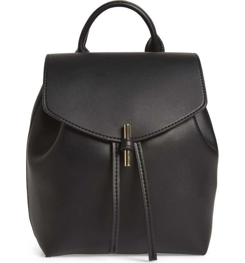 Topshop Black Backpack.jpg