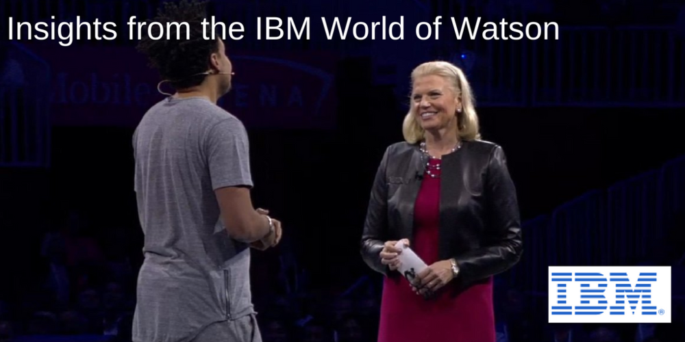 IBM CEO Ginni Rometty with AlexdaKid discussing the creative process and IBM Watson together