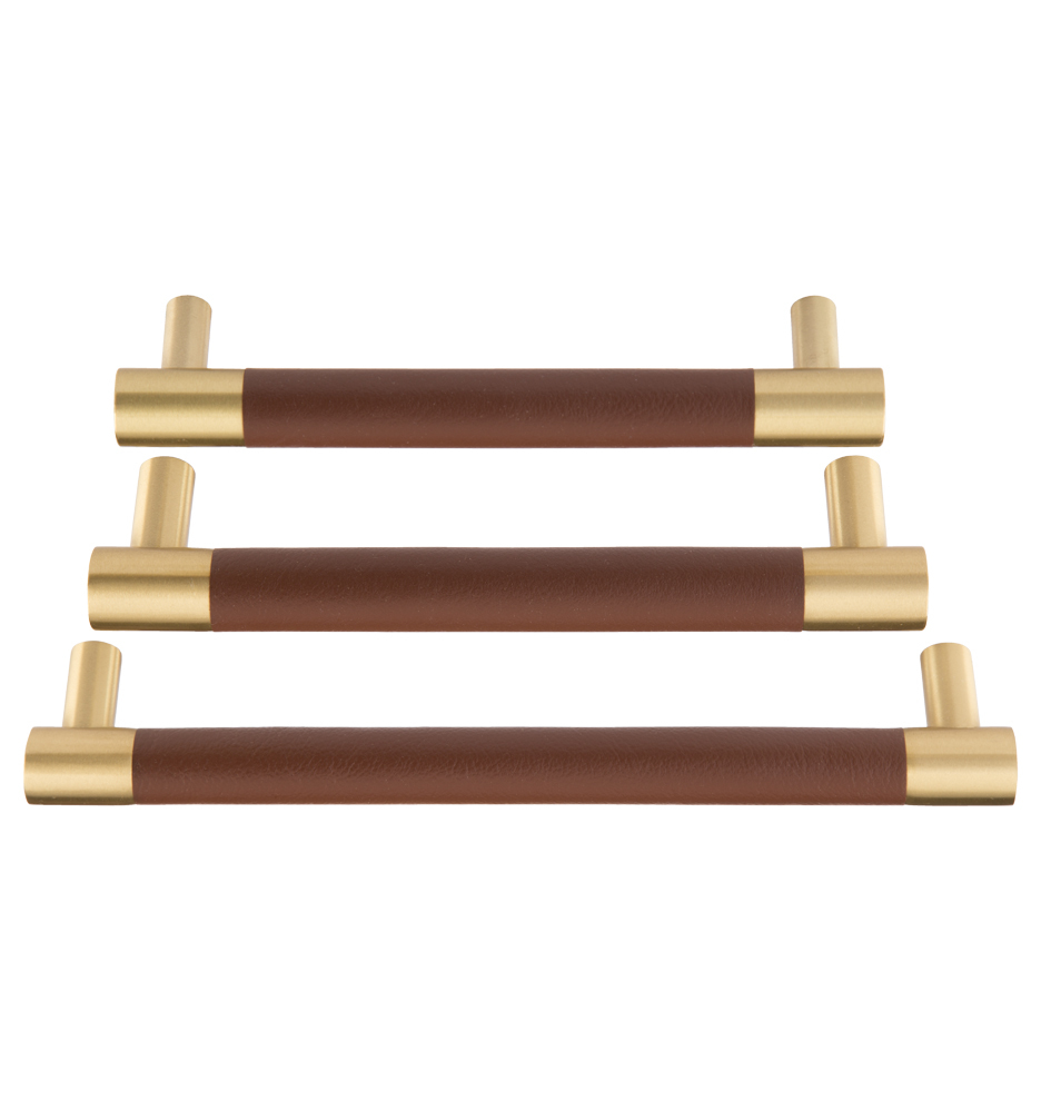 Rejuvenation Kennaston Drawer Pull, Color: Satin Brass.
