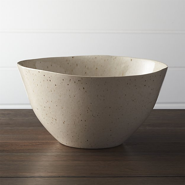 Lastly, the  Wilder Serving Bowl  is a standout piece in this dinnerware collection. I love that it's taller and narrower than most serving bowls.