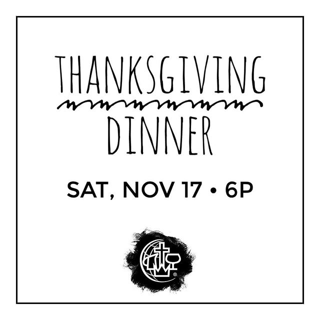 THIS SATURDAY come and join us in our annual Thanksgiving Dinner! 🦃🍂 . #eastbayalliance #cmalliance #oakland #thetown #eastbay #weloveoakland #wewalkbyfaith #godisfaithful #jesuslovesoakland #thanksgiving