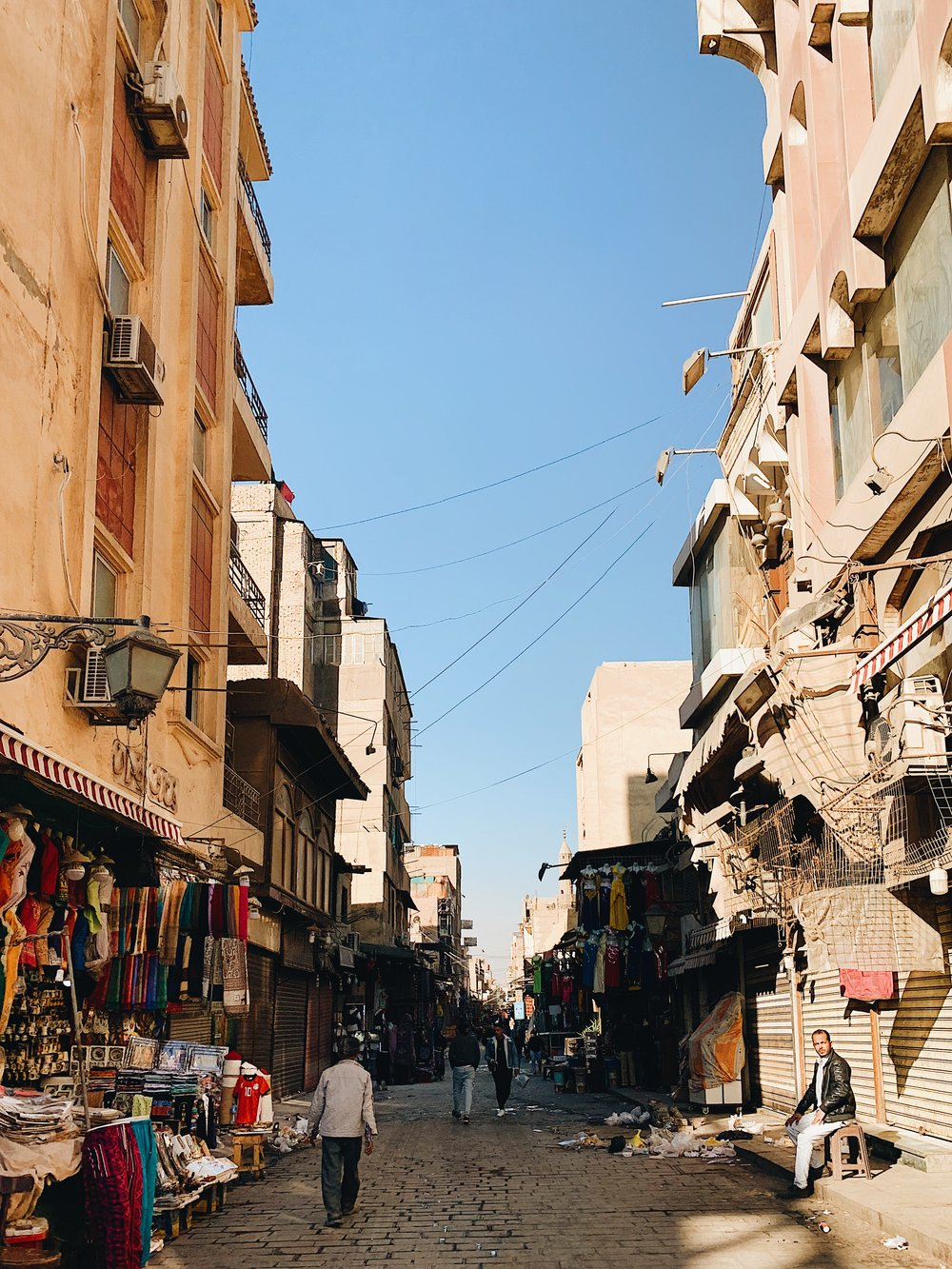The Bazaars in Cairo, Egypt