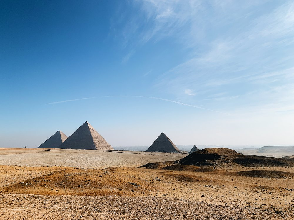 travel to egypt the great pyramids in giza.JPG