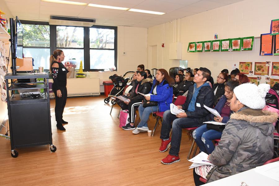 Bilingual Parent Workshop at KCC Bronx