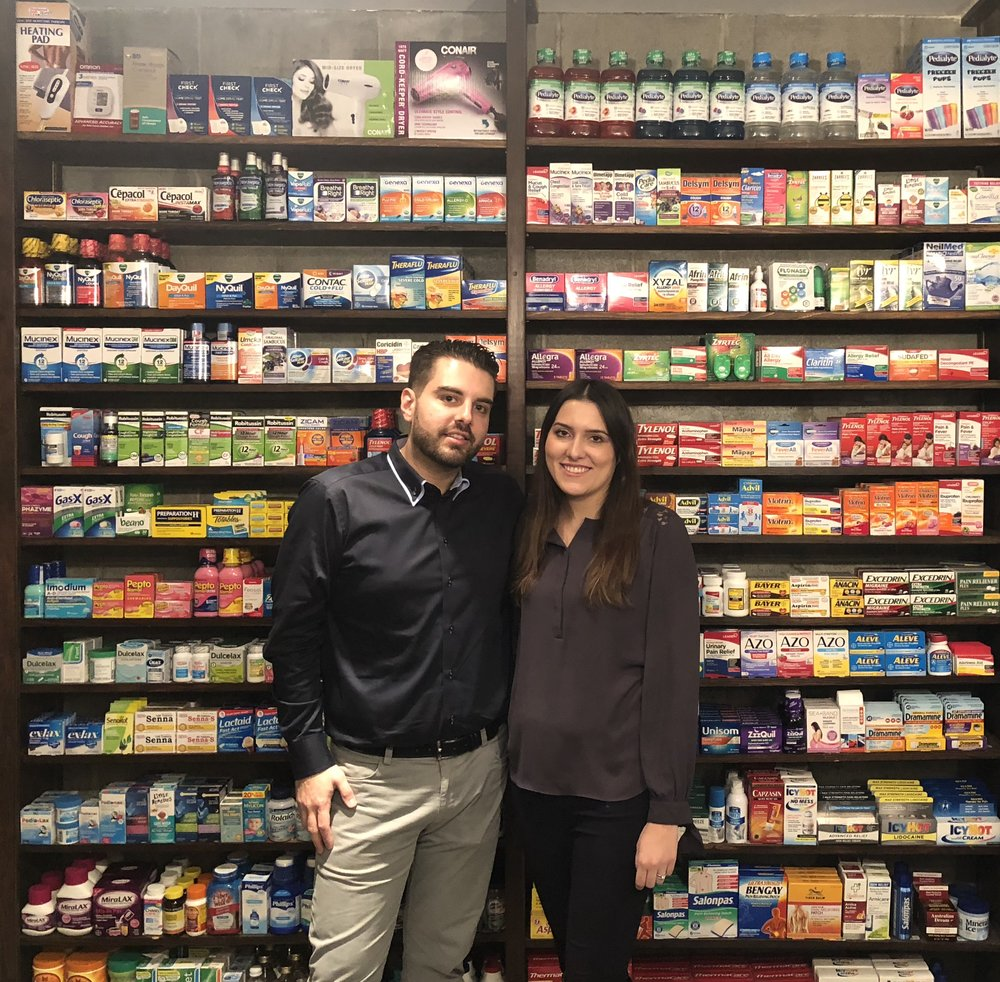 Pictured above are our star pharmacists Demetrios Papanakios, and Ewelina Kalinowska. They are both extremely friendly, knowledgeable, and always go out of their way for the healthcare of their patients.