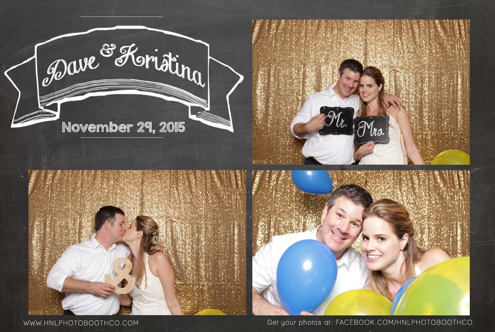 Honolulu Oahu Hawaii photo booth rental for wedding birthday graduation party