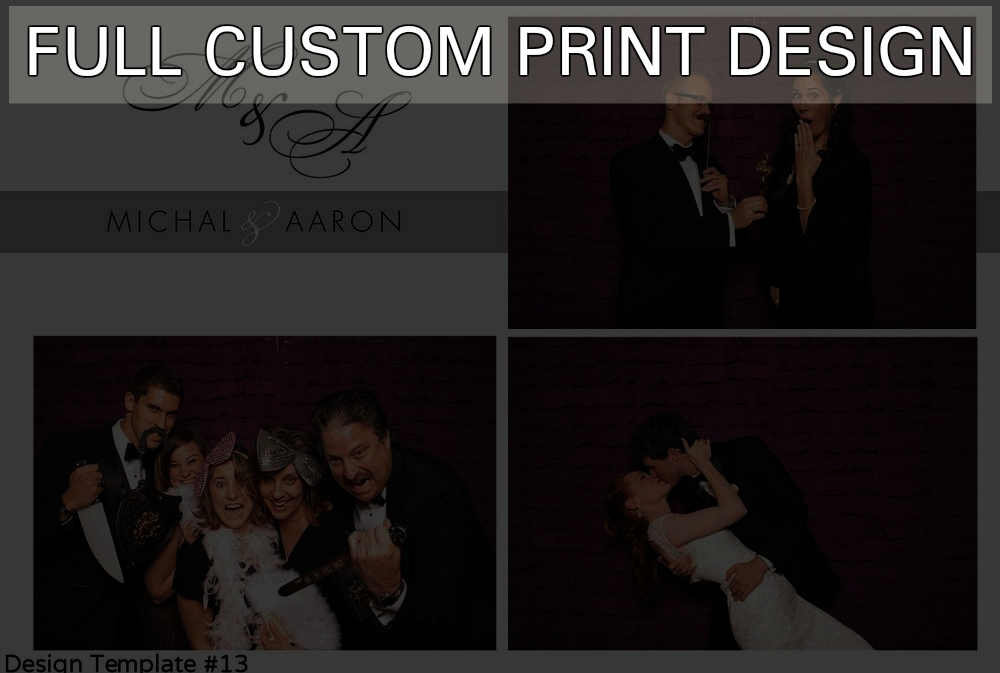 + $95 FULL CUSTOM PRINT DESIGN