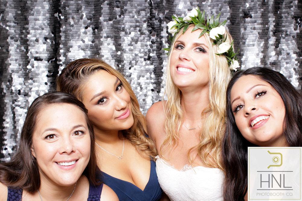 wedding party photo booth photography in waialua haleiwa north shore honolulu hawaii