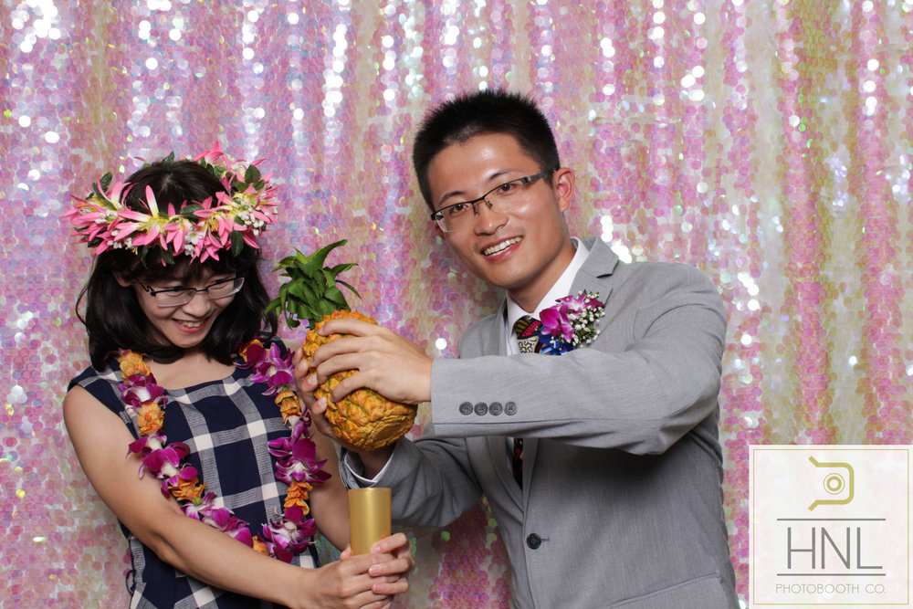 Yemi and Yang Wedding Photo booth Hiltion Hawaiian Village Resort Waikiki Oahu Hawaii -50.jpg