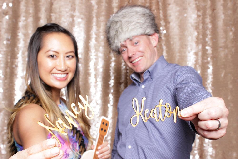 Erika and Edward Wedding Party Photo Booth Four Seasons Resort Ko Olina Hotel Kapolei Oahu Hawaii (203).JPG