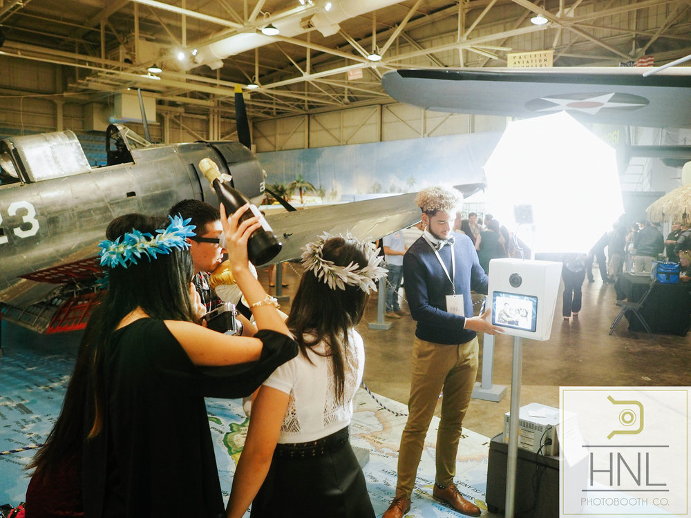 Yelp Event party rental photo booth flight club at the pacific aviation museum at pearl harbor honolulu hawaii (30).JPG