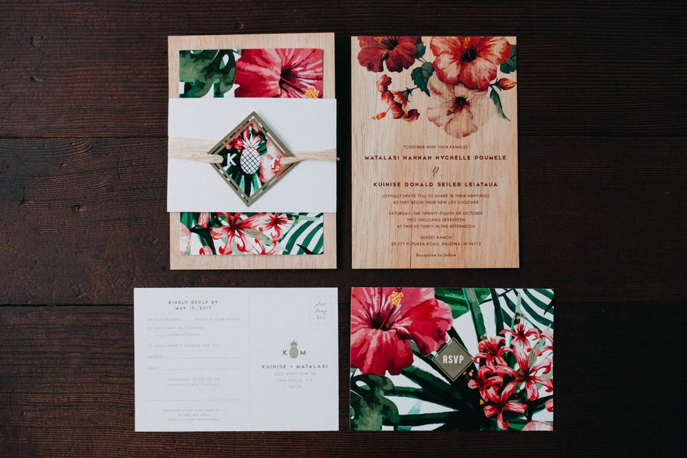 Invitations & Stationary -