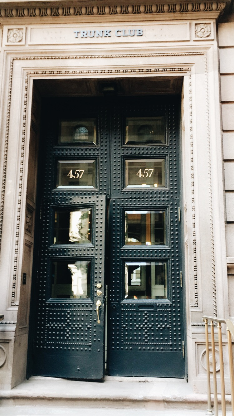 Entrance to Trunk Club NYC