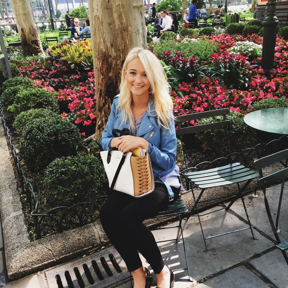 Bryant Park shopping day