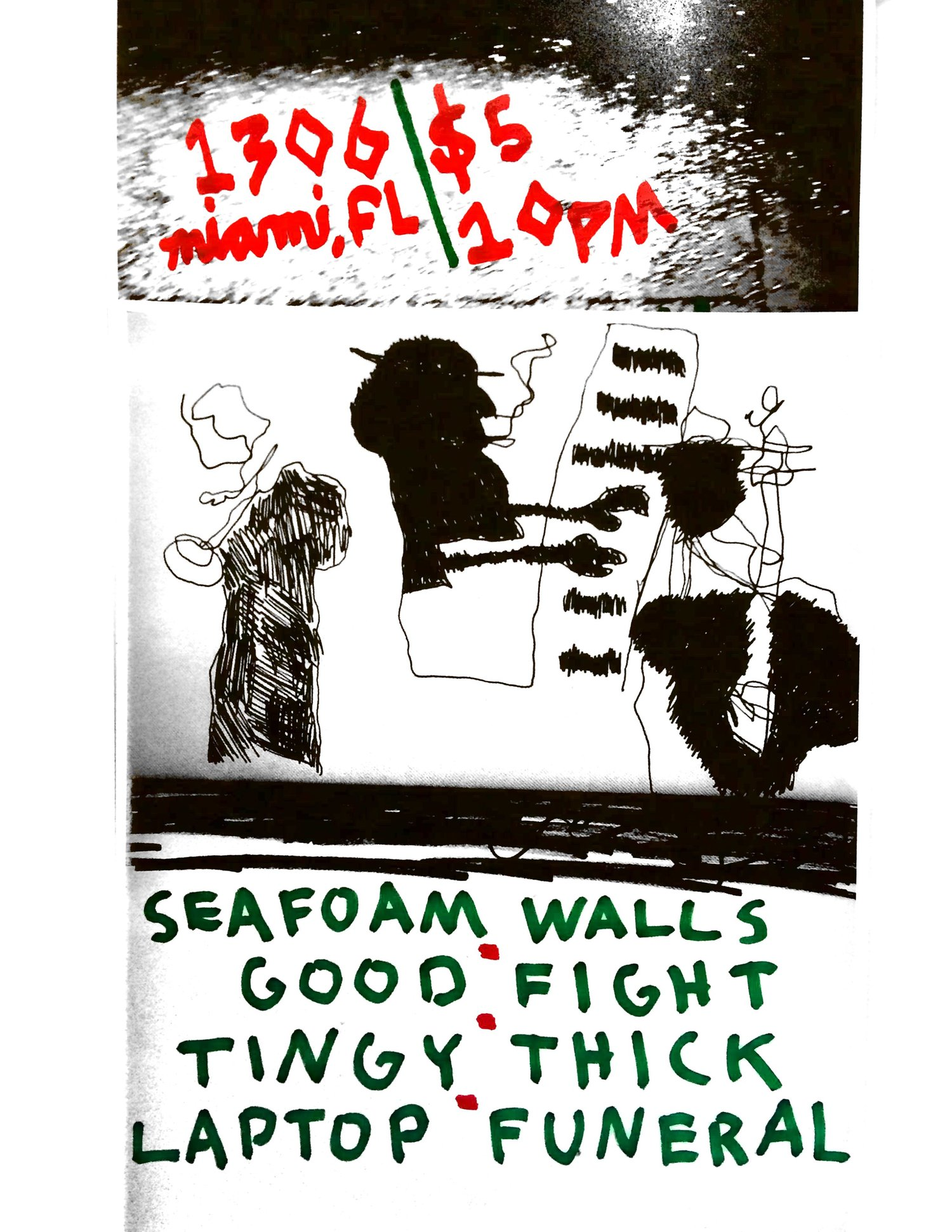 Seafoam Walls, Tingy — 1306 Miami