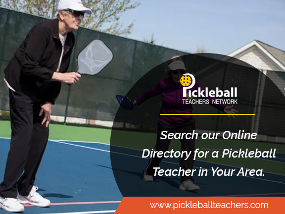 6 Months Free! - Use the promo code PCI to get 6 months of free premium access to Pickleball Teachers Network — the best online directory for PB instructors.