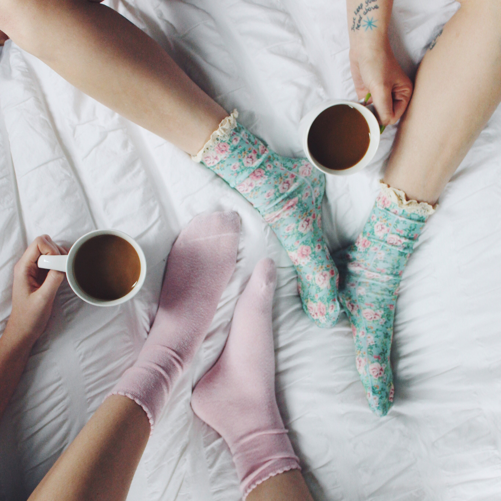 We woke up on Saturday and started our day off like any other: with coffee. There's almost nothing better than getting cozy with your BFF; cup of java in hand (insert many coffee emojis here).