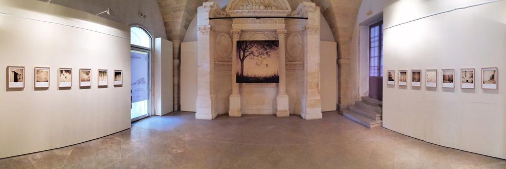 Umbra - Exhibition during the festival Itineraires des photographes voyageurs in Bordeaux, France.