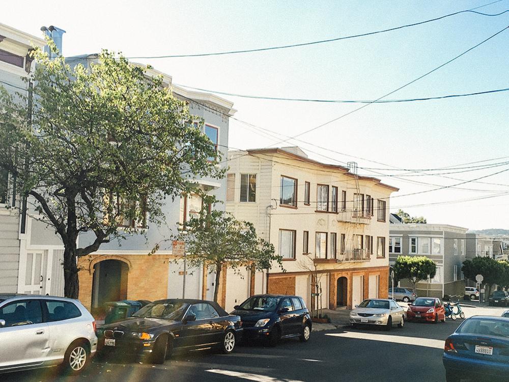 Vicksburg Street, Noe Valley, San Francisco.