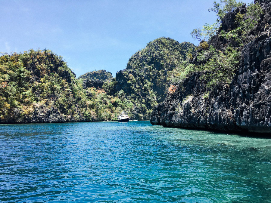 The entry to Kayangan Lake, Coron, Palawan.