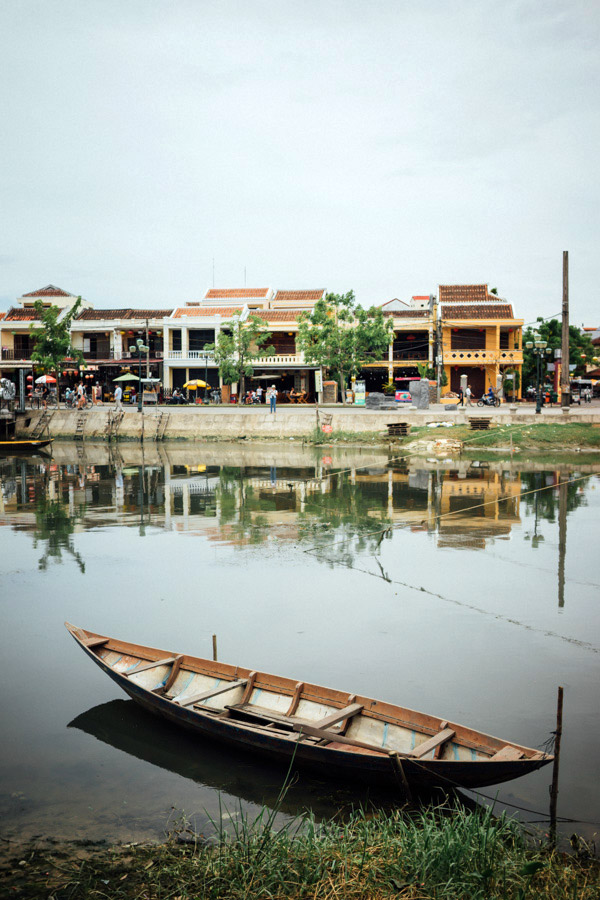 Hoi An, the Venice of Vietnam.