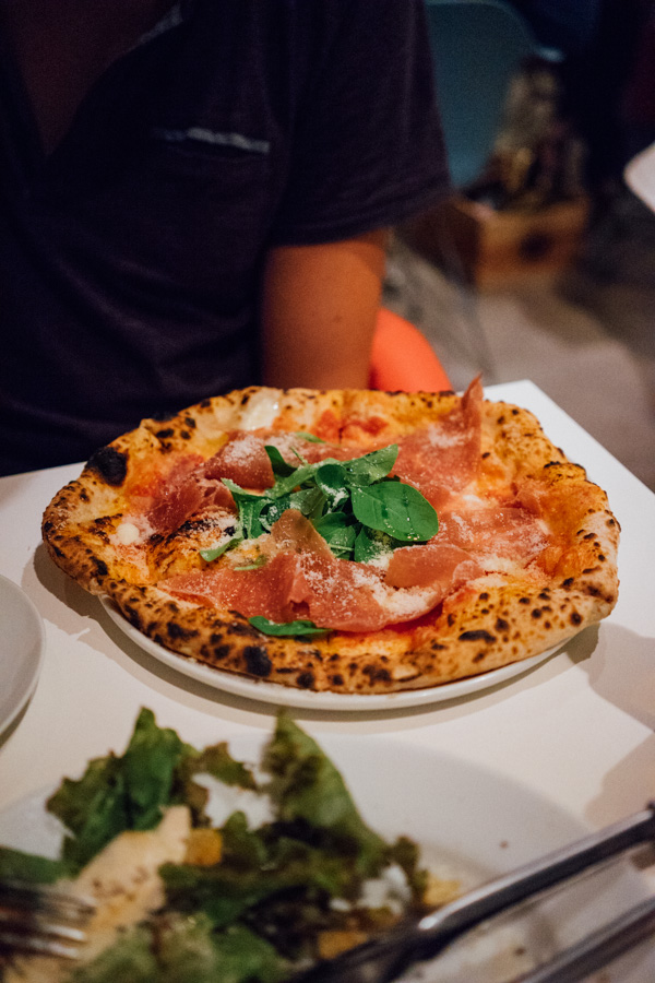 Some of the best pizza is served at  Goichi Pizza  in Kyoto.