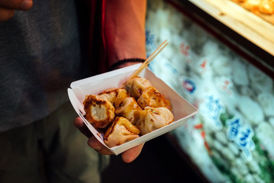 Raohe Street night market - XiaoMao dumplings