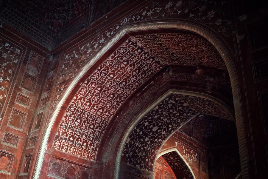 Taj Mahal details.