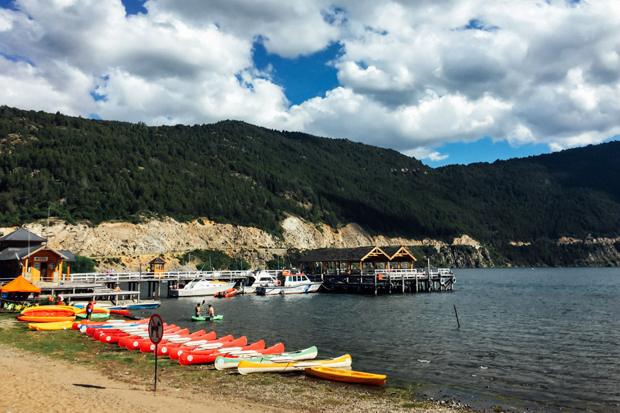 Lakeside in San Martín de los Andes.