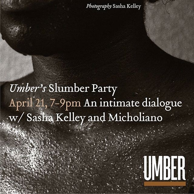"👄Lets talk about pleasure, desire, fantasy & kink 😆 .  from @umbermagazine  Wanna Take Peek Inside the Sheets of Umber? Umber's Slumber Party Saturday April 21. From On Paper to In Person: This is your chance to get a behind the scenes look at Umber Magazine and the ""Slumber"" contributors of this issue: photographers @on.mommas and @micholiano. Our Slumber section is a space where we explore the sensual, the bodily and the nude; through the lens of black and brown people. DM @umbermagazine to RSVP and get secret location. Space is limited."