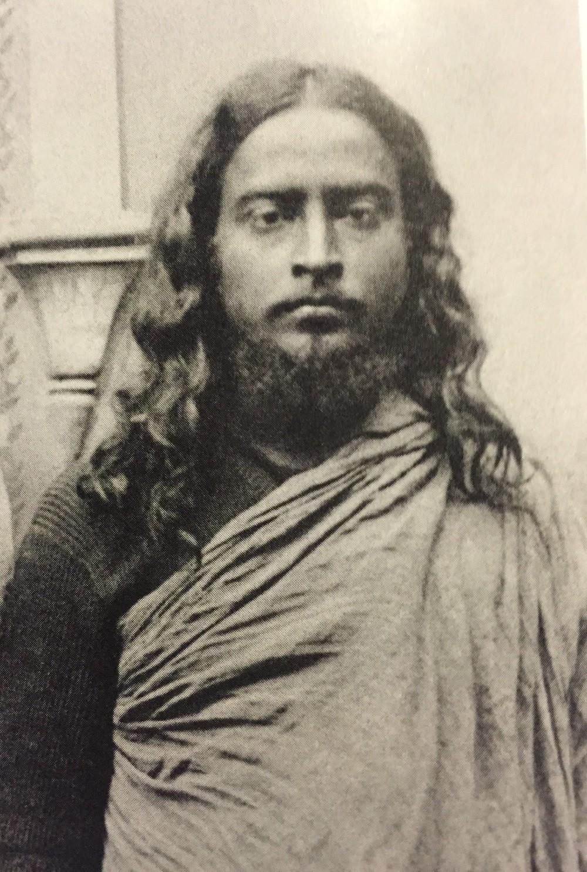 One of ganga's favorite pictures of Sri Yogananda, taken in india during his time of intense sadhana.