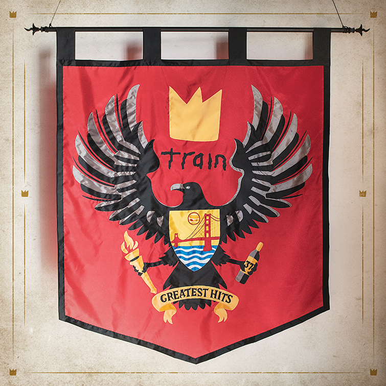 train greatest hits album cover