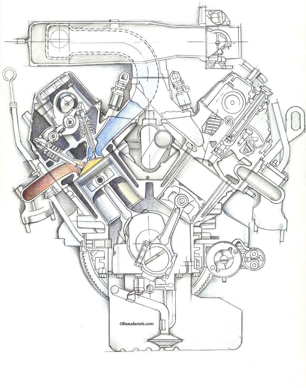 Beaudaniels Illustration