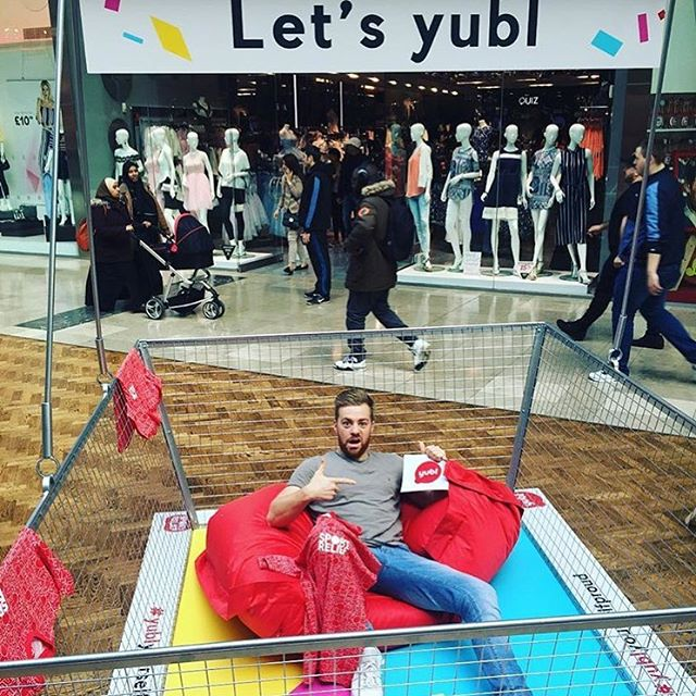 Regram from @anto_sharp! He went straight in our basket.  #yublyourselfproud #yubl #straightinmybasket #sportrelief