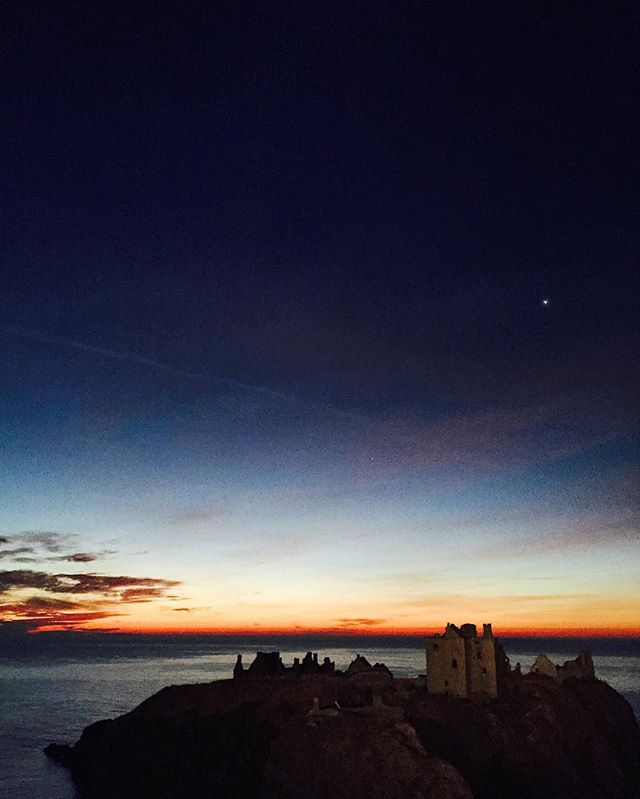 Good morning from us here at the workshop!  This photo of Dunnottar Castle was taken during filming of a Toyota advert we helped style! Breathtaking.   #Scotland #Dunnottarcastle #castle #sunrise #filming #toyota #advert #advertising #styling #stylist #landscape #landscaping